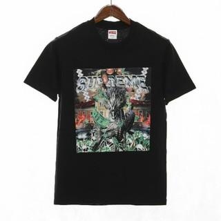 COMME des GARCONS - Supreme Dragon Tシャツ/カットソー 半袖/袖なし  ブラック