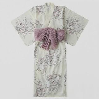 シマムラ(しまむら)のプチプラのあや 小花柄浴衣3点セット(浴衣)