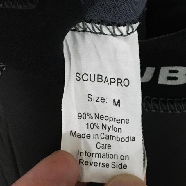 SCUBAPRO(スキューバプロ)のウエットスーツ SCUBAPRO スポーツ/アウトドアのスポーツ/アウトドア その他(マリン/スイミング)の商品写真