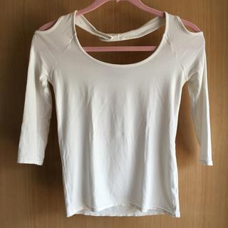 マウジー(moussy)のmoussy マウジー 七分袖 デザイントップス(Tシャツ(長袖/七分))