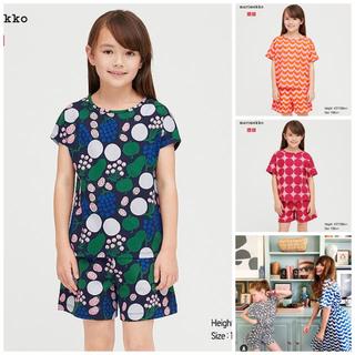 マリメッコ(marimekko)のマリメッコ子供用Tシャツ マリメッコ×ユニクロコラボ (Tシャツ/カットソー)