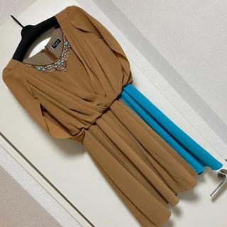 グレースコンチネンタル(GRACE CONTINENTAL)のグレースコンチネンタル ドレス【美品】(ミディアムドレス)