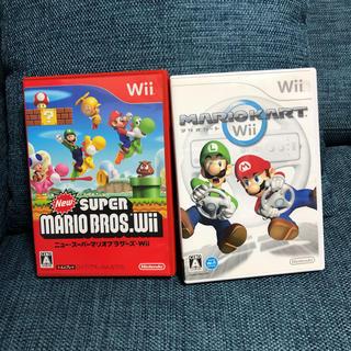 Wii - マリオカート マリオブラザーズ Wii