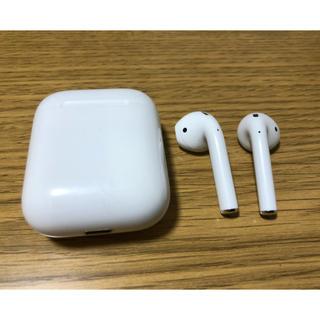 アップル(Apple)のair pods 第一世代 Apple 純正品 完動品(ヘッドフォン/イヤフォン)
