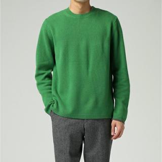 paulsmith ポールスミス ウールクルーネックセーター 未使用 M(ニット/セーター)