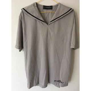 ミルクボーイ(MILKBOY)のmilkboy セーラーシャツ グレー(Tシャツ/カットソー(半袖/袖なし))