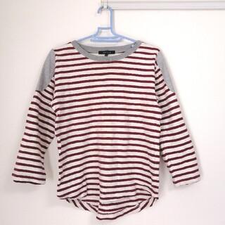 メンズ ボーダーロングTシャツ(Tシャツ/カットソー(七分/長袖))