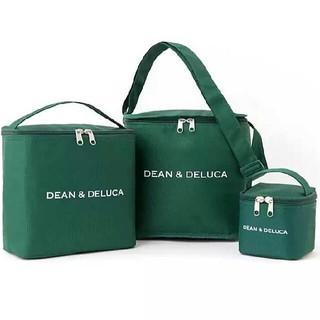 ディーンアンドデルーカ(DEAN & DELUCA)の【新品 未使用】ディーン&デルーカ 付録 保冷バッグ グリーン 3点セット(その他)