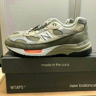 New Balance - Wtaps new balance M992WT 27.5cm 新品未使用