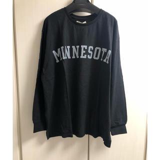 アングリッド(Ungrid)の新品 ロゴプリントロングスリーブTee(Tシャツ(長袖/七分))
