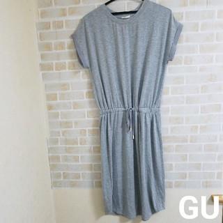 GU - 【本日削除/最終値下げ】GU  膝丈ワンピース