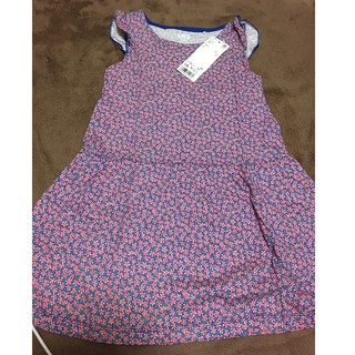 ユニクロ(UNIQLO)の女の子 ユニクロ ワンピース 110 110cm キッズ 子供服(ワンピース)