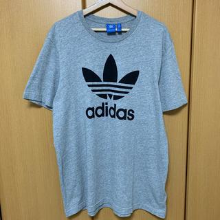 オリジナル(Original)のadidas originals Tシャツ グレー ビッグサイズ (Tシャツ/カットソー(半袖/袖なし))
