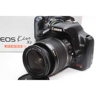 Canon - ❤️憧れのCanon一眼レフ❤️Canon EOS Kiss X2 レンズキット