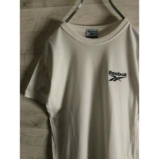 リーボック(Reebok)のReebok リーボック ワンポイント 刺繍 Tシャツ(Tシャツ/カットソー)