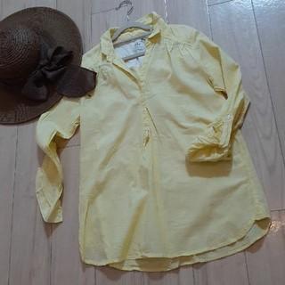 イッカ(ikka)のイッカの涼しげカットソーシャツ(カットソー(長袖/七分))
