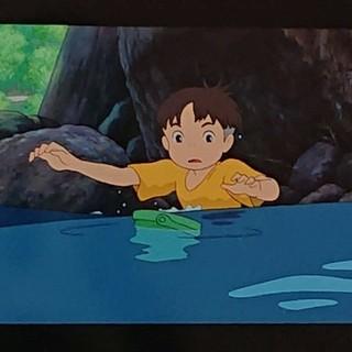 ジブリ(ジブリ)のジブリ美術館 入場券 フィルム チケット 崖の上のポニョ(キャラクターグッズ)