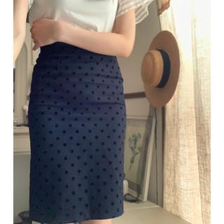 エディットフォールル(EDIT.FOR LULU)のEDIT FOR LULU/Lulu on the BRIDGE ドットスカート(ひざ丈スカート)