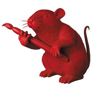 メディコムトイ(MEDICOM TOY)のMCT TOKYO LOVE RAT(RED Ver.) 新品未開封 バンクシー(彫刻/オブジェ)