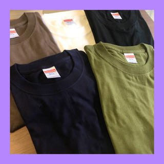 WACKO MARIA - 無地 Tシャツ S 5色セット 5.6オンス ヘビーウェイト ユニクロ ハレ