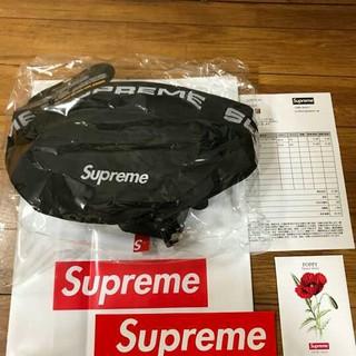 Supreme - supreme waist bag 18ss ウエストバッグ 黒