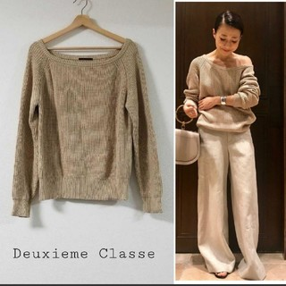 DEUXIEME CLASSE - Deuxieme Classe オフショルダーニット