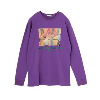 ジュエティ(jouetie)のjouetie 60SフォトフロングスリーブTEE ロゴ ロンT(Tシャツ/カットソー(七分/長袖))