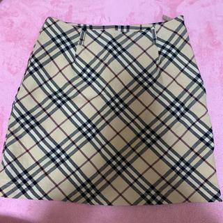 バーバリー(BURBERRY)のバーバリー 台形スカート サイズ38(ミニスカート)