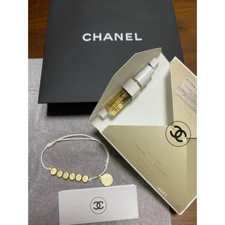 シャネル(CHANEL)の【新品】CHANEL シャネル❣️ガブリエル 香水サンプル ブレスレット セット(ブレスレット/バングル)