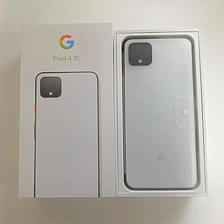 ANDROID - 新品SIMフリー Google Pixel 4 XL 64GB/ホワイト