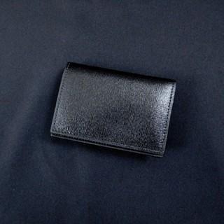 バーニーズニューヨーク(BARNEYS NEW YORK)の新品 TERMINUS テルミナス カードケース 名刺入れブラック(名刺入れ/定期入れ)