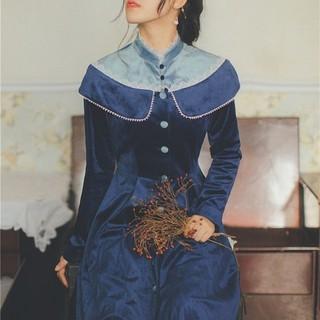 ヴィクトリアンメイデン(Victorian maiden)の青藍伯爵夫人のワンピース(ロングワンピース/マキシワンピース)