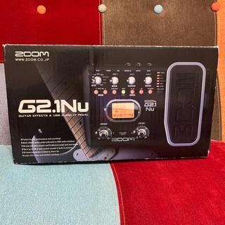 ズーム(Zoom)のZOOM マルチエフェクター G2.1Nu 説明書・ACアダプター付き(エフェクター)