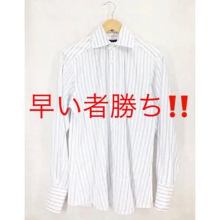 グッチ(Gucci)の(希少) GUCCI グッチ ストライプシャツ イタリア製(シャツ)