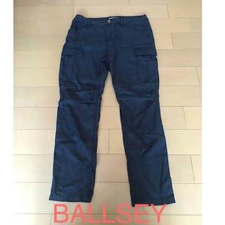 ボールジィ(Ballsey)のBALLSEY  紺色カーゴパンツ(ワークパンツ/カーゴパンツ)