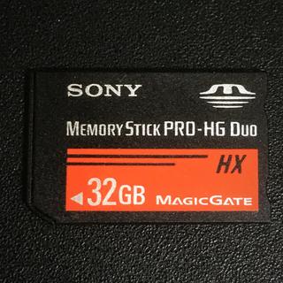SONY - SONY メモリースティックPRO-HG Duo HX 32GB