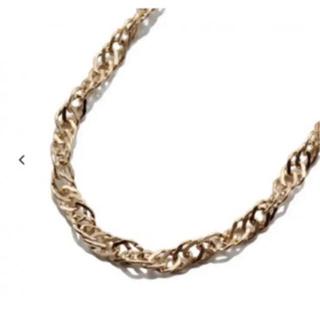 アヴァランチ(AVALANCHE)のavalanche 10k スクリューネックレス 50cm(ネックレス)