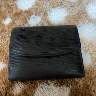 LOUIS VUITTON - 確実正規品 ルイヴィトン 折りたたみ財布 コインケース エピ ブラック