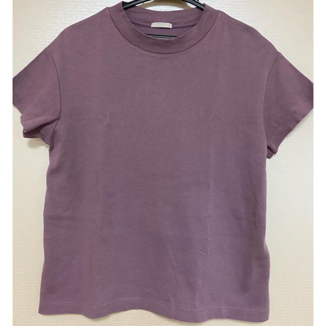 GU(ジーユー)のGU人気スムースTシャツM♡UNIQLO、グローバルワーク、アメリカンホリック レディースのトップス(Tシャツ(半袖/袖なし))の商品写真