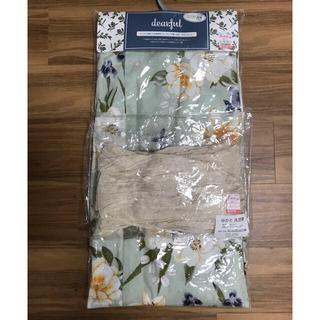 シマムラ(しまむら)の最終お値下げ 新品タグ付き しまむら プチプラのあや コラボ 洋花柄浴衣3セット(浴衣)