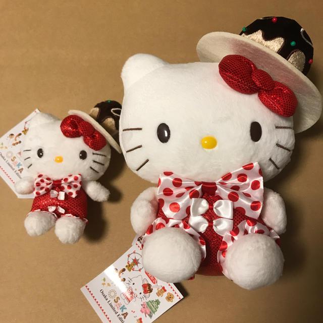 ハローキティ(ハローキティ)の大阪限定 タコヤキハローキティ エンタメ/ホビーのおもちゃ/ぬいぐるみ(キャラクターグッズ)の商品写真