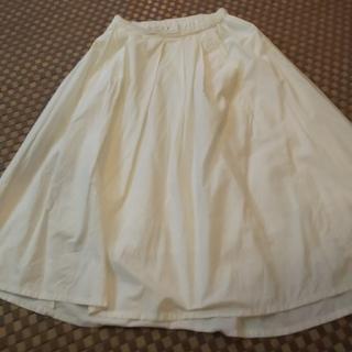 アシンメトリースカート(ひざ丈スカート)