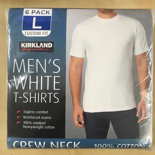 コストコ(コストコ)のコストコ カークランド Tシャツ Lサイズ 6枚パック(Tシャツ/カットソー(半袖/袖なし))