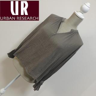 URBAN RESEARCH - アーバンリサーチ デザインブラウス カーキ