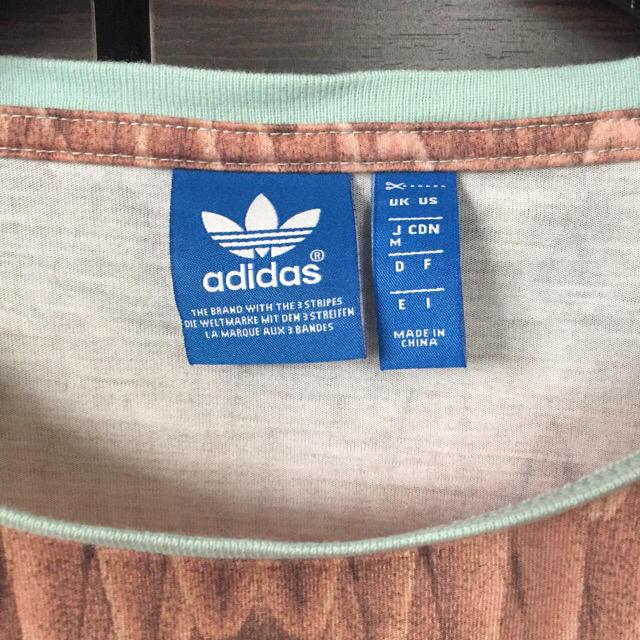 adidas(アディダス)のadidas originals × farm company 羽根柄Tシャツ レディースのトップス(Tシャツ(半袖/袖なし))の商品写真