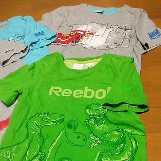 リーボック(Reebok)の値下 リーボック 5枚 Reebok 140 ディズニー Pixar カーズ(Tシャツ/カットソー)