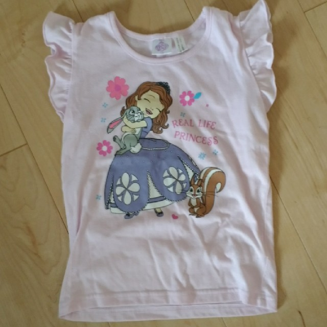 Disney(ディズニー)のプリンセスソフィア半袖トップス キッズ/ベビー/マタニティのキッズ服女の子用(90cm~)(Tシャツ/カットソー)の商品写真