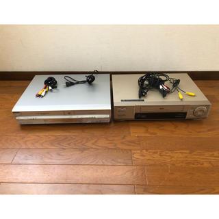 パナソニック(Panasonic)のS-VHS ビデオデッキNV-SB600WDR-MF3 DVD・VHSレコーダー(DVDレコーダー)