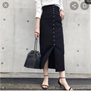 Plage - plage 美品★co  ハイウエストストレッチタイトスカート