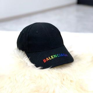 Balenciaga - 美品 バレンシアガ レインボーロゴ キャップ